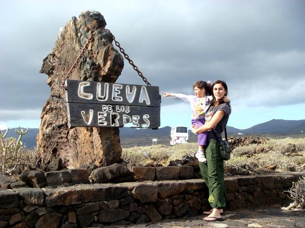 Cueva de los verdes Lanzarote con niños