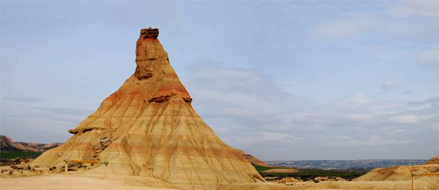 Las Bardenas Reales: un paisaje lunar en Navarra