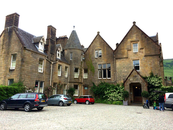 Escocia con niños castillo hotel glengarry