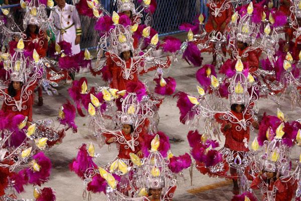 carnaval-Rio con niños