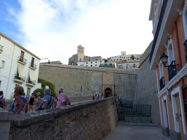 dalt vila Ibiza con niños