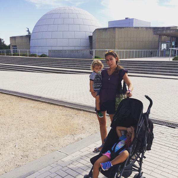 planetario gratis en Madrid con niños