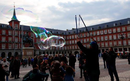 Plaza Mayor - gratis con niños en Madrid