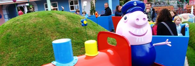 Parque de atracciones de Peppa Pig