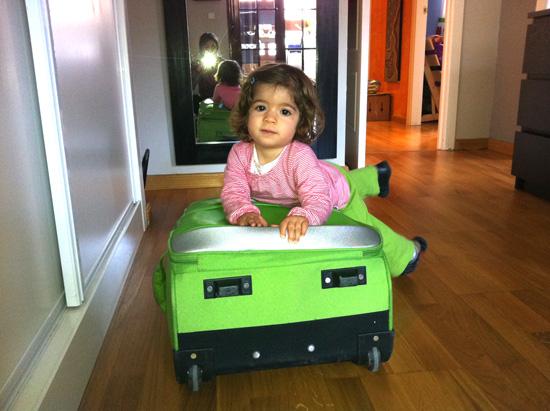 hacer la maleta del bebé