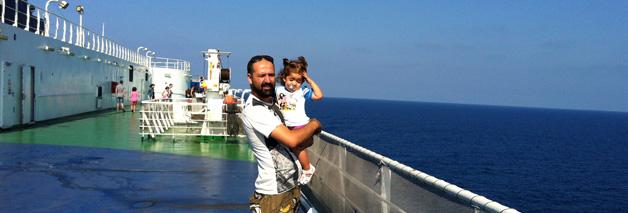 Viajar en ferry con niños