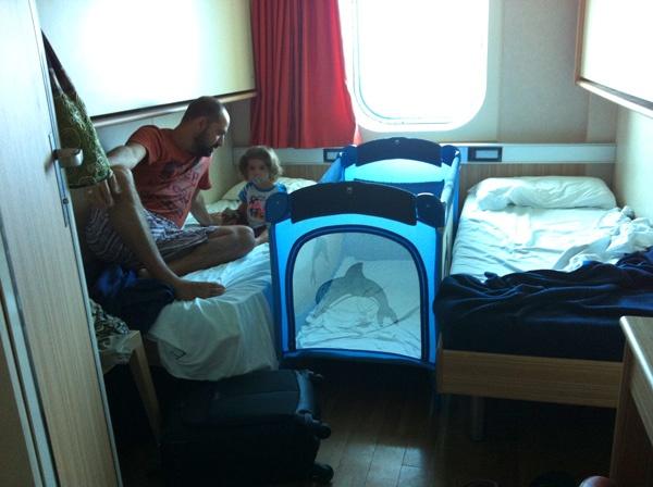 ferry con bebes