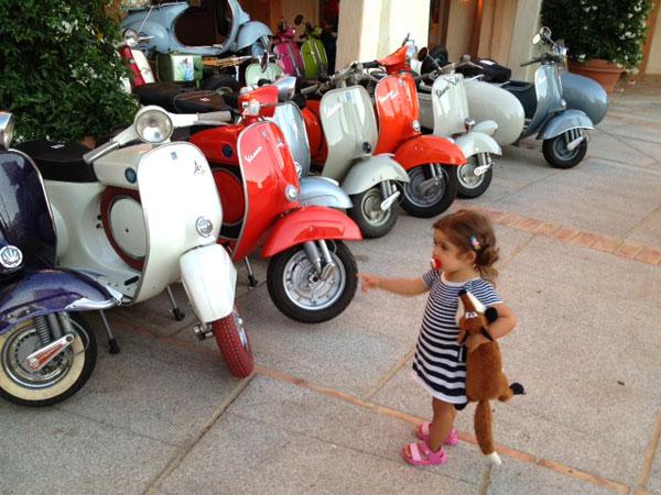 Porto Cervo con niños