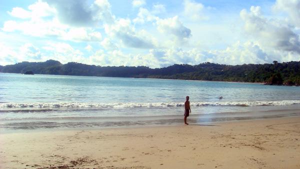 Playa Espadilla en PN Manuel Antonio