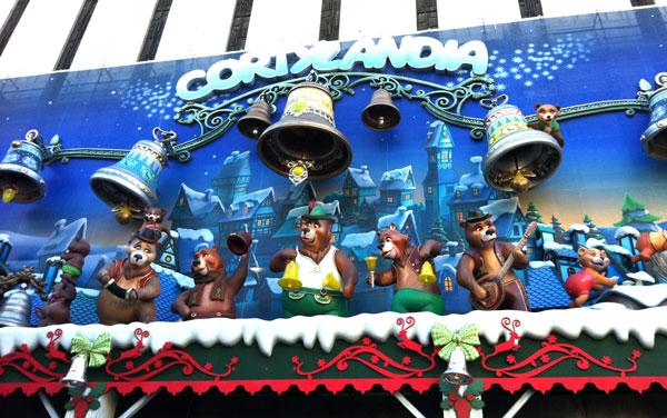 Madrid con niños en Navidad Cortylandia