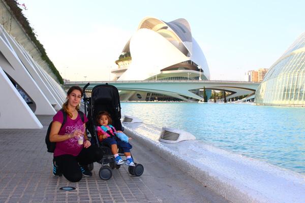 viajar con carritos bebes