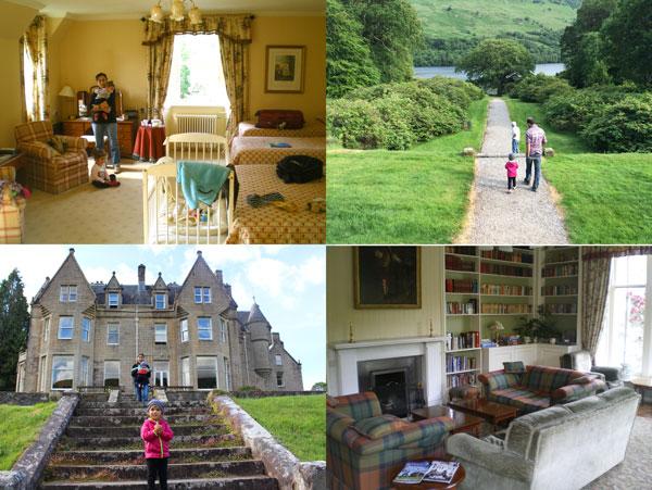 alojarse en castillo Glengarry