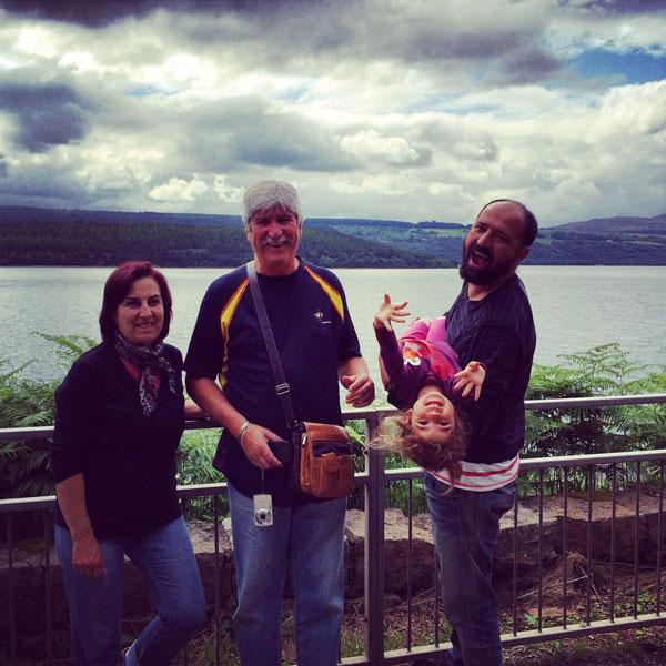 Escocia con niños lago ness