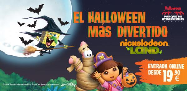 halloween con niños en Madrid