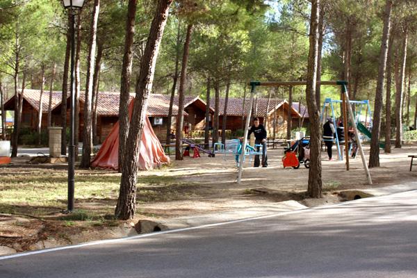 Valle del Cabriel con niños