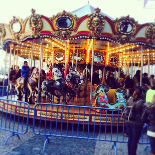 Madrid Navidad con niños  plaza mayor