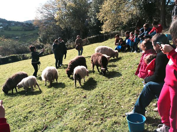 granja Conlleu Asturias con niños