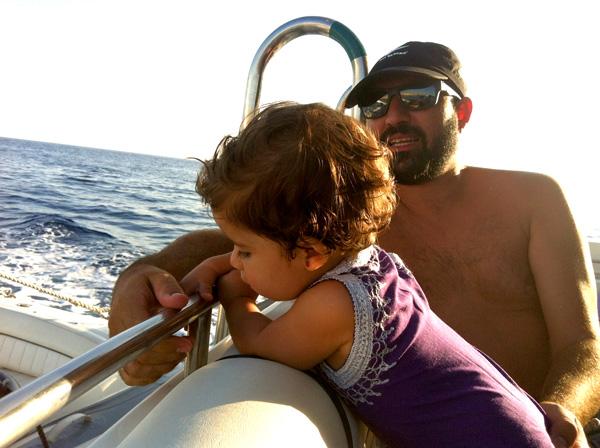 ibiza con niños excursión en barco