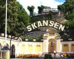 El museo viviente y zoo Skansen en Estocolmo