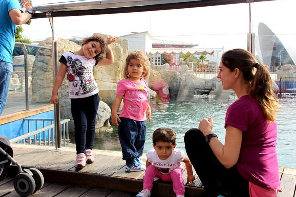 valencia oceanographic con niños