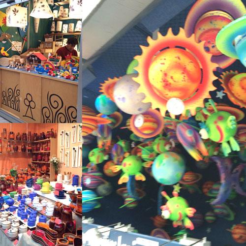 navidad madrid con niños mercado artesania