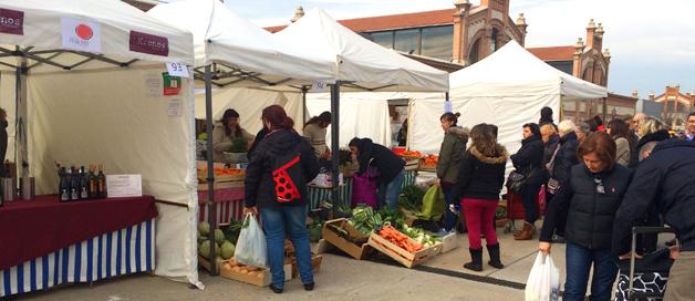 Mercado Madrid Productores, de la granja a tu despensa
