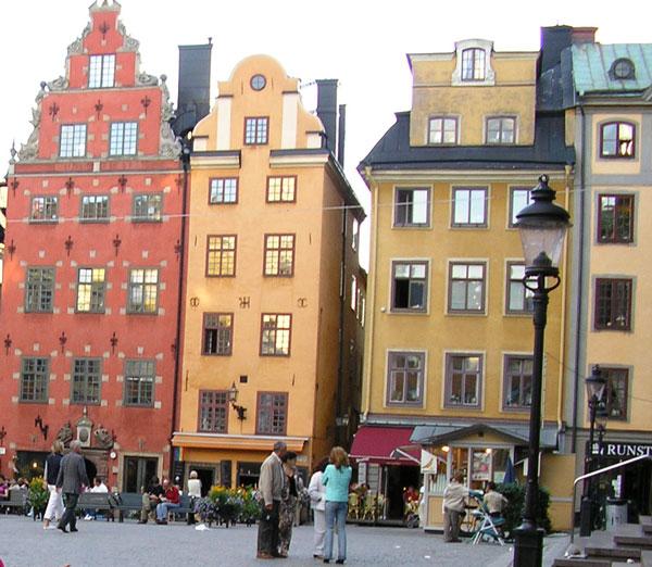 que ver en Suecia con niños Estocolomo Gamla-Stan