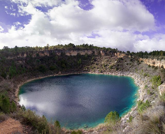 Lagunas de Cañada del hoyo Cuenca con niños