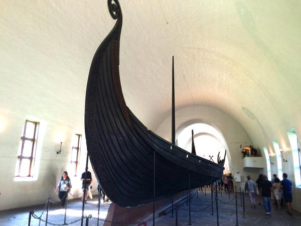 oslo con niños museo de barcos vikingos