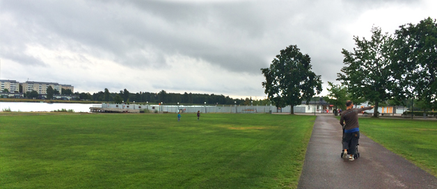 Karlstad y el parque Mariebergsskogen