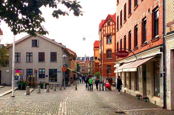 gotemburgo con niños barrio de haga