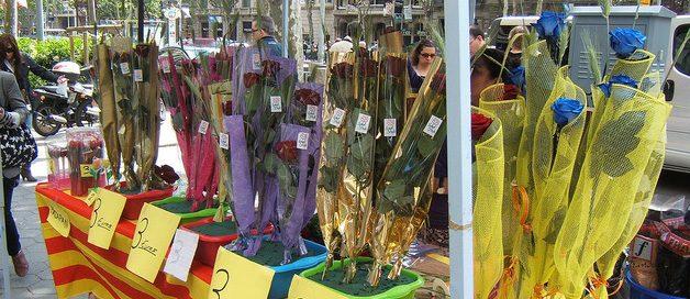 Visitar Barcelona el día de Sant Jordi