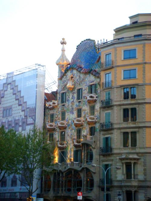 barcelona con niños casa batllo