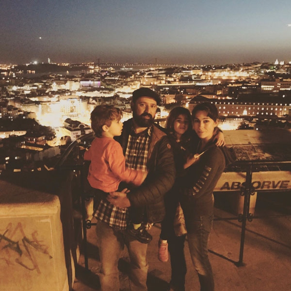 mirador de Graça Lisboa con niños