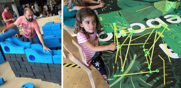 universeum construcciones  gotemburgo con niños