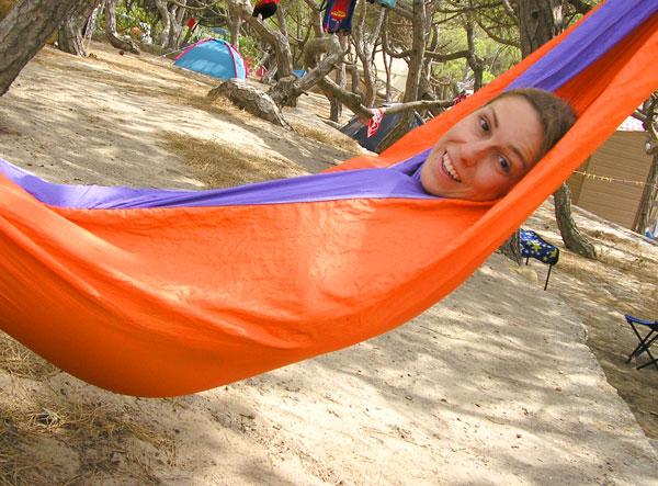 camping con niños