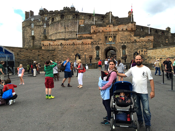 Escocia con niños Castillo de Edimburgo
