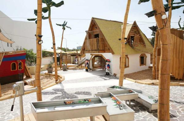 Malta con niños Playmobil fun park