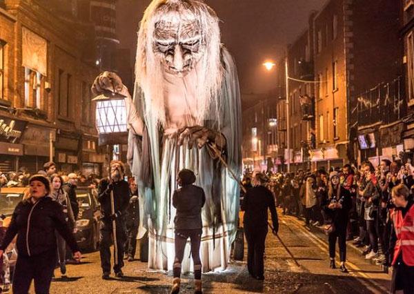 Halloween con niños Irlanda