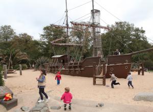 viajar a Londres con niños 2013- Diana Memorial Playground