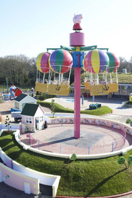 Parque de atracciones de Peppa Pig  Mi Pequeo Gulliver