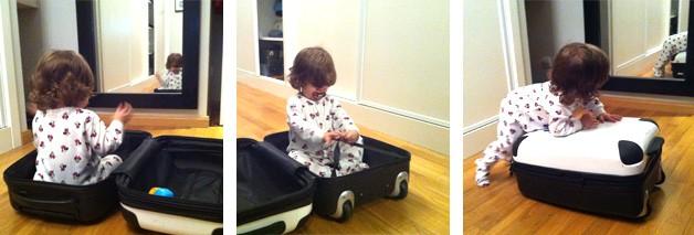 La lista de viaje del bebé