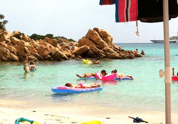 Playas de Cerdeña con niños