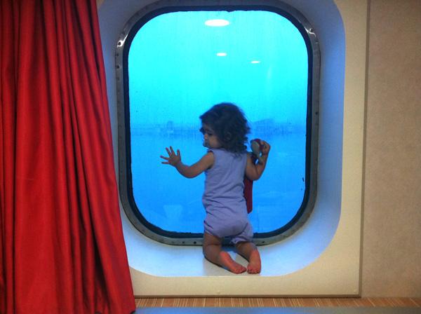 ferrys con niños