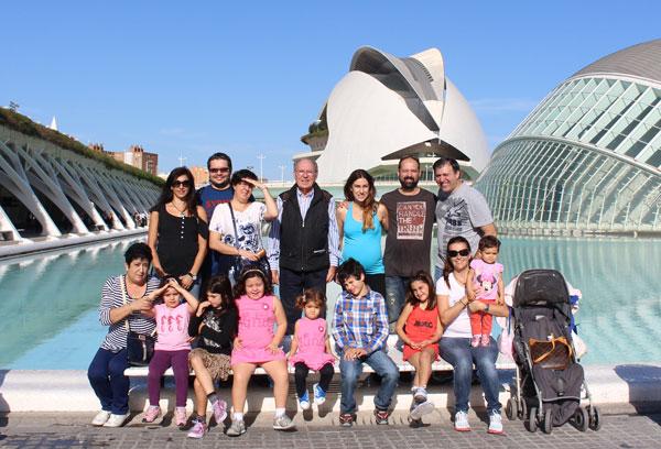 Ciudad de las Artes y las Ciencias en familia
