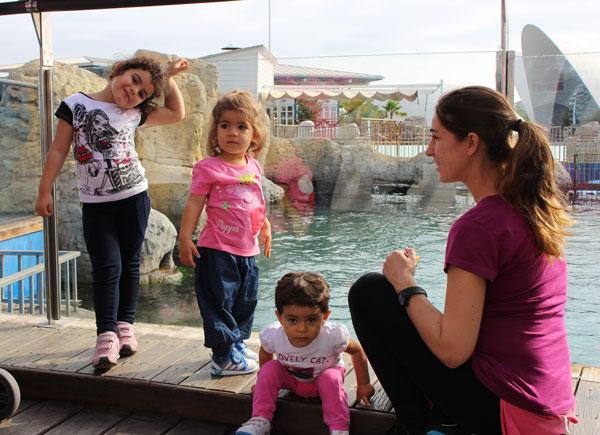 Oceanografic con niños