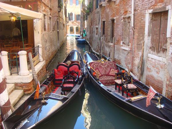 Viajar a Venecia con niños