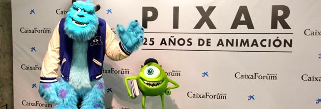 Exposición de Pixar en Madrid