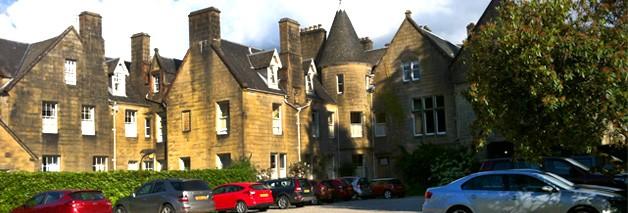 Tipos de alojamiento en Escocia