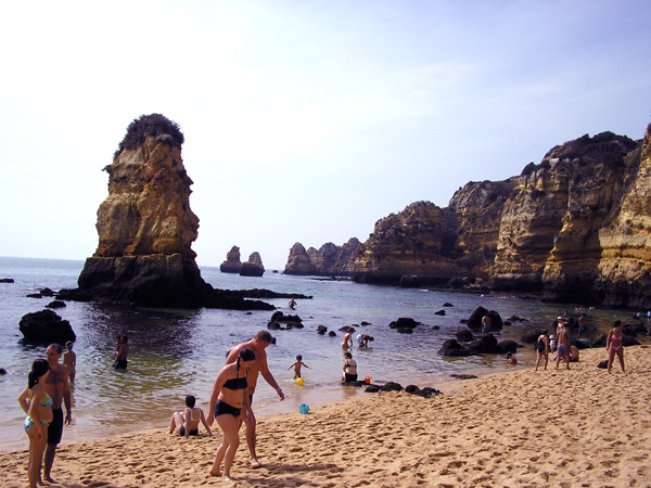 Playas Portugal Dona Ana